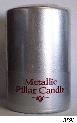Bed Bath and Beyond Metallic candle recalled