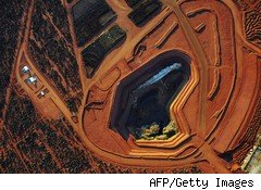 Rare earth mine in Australia