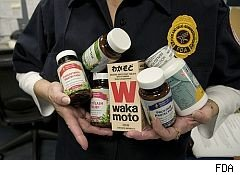 FDA warns supplements marketers