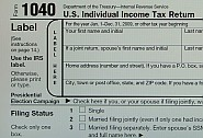 1040 income tax return form