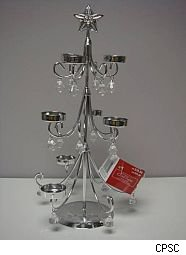 Michaels tea light holder recall christmas