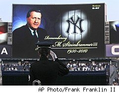 George Steinbrenner, one of the 2010 Departures