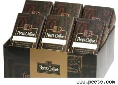 Peet's Coffee sampler