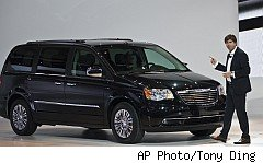 Cheapest Car to insure: Chrysler Town and Country van