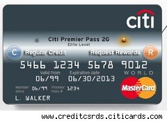 Citi Cards new 2G card