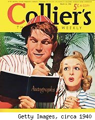 Collier's magazine circa 1940 by Getty Images