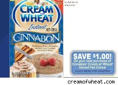 Cinnabon flavored Cream of Wheat