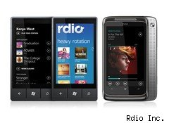 Rdio streaming music service