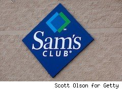 Sam's Club logo - free membership sam's club