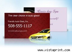 Vista Print business card magnets