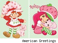 American Greetings presents the Strawberry Shortcake mascot makeover