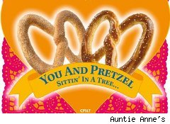Auntie Anne's free pretzel coupon