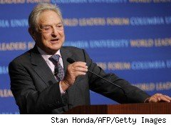 George Soros tops the list of 50 biggest charitable donors in 2010