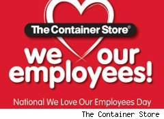 The Container Store banner fir