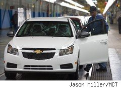 GM January sales rose 22%