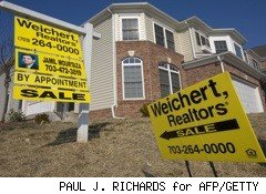 weichert sign in front of brick and white house - sell your house