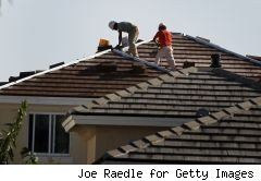 american shingle roofers