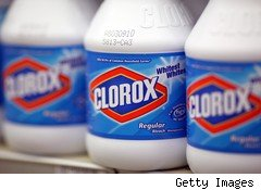 Clorox bleach bottles