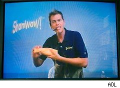 The classic ShamWow As Seen On TV commercial
