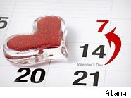 Celebrate Valentine's before or after the real date to save money