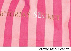 Victoria's Secret striped bag