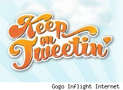 Banner from Gogo Inflight Internet