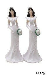 two bridal figures for cake - costco bridal