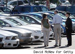 auto dealership - auto lender