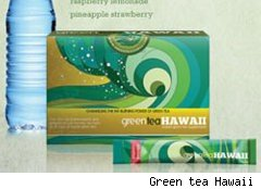 Green tea Hawaii