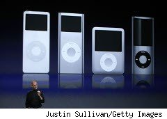 Array of iPods