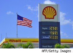 Gasoline prices in Key West, Fla.