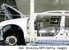 Earthquake's Effects Rattle Japanese Automakers