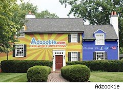 Adzookie will pay your mortgage to advertize all over your house