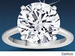 Costco diamond ring