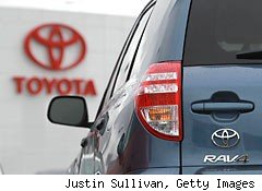 Toyota announced today that it will recall nearly 308,000 RAV4s and Highlander models