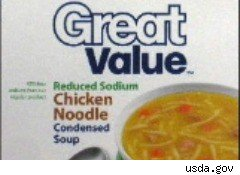 Walmart chicken soup recalled