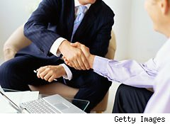Asking for help from a financial advisor
