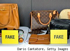 Counterfeit bags unhealthy?