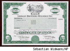 Lehman Brothers' First Share Sells for 24,000 Euros
