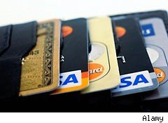 Credit card use is on the rise