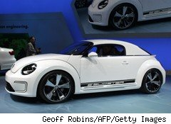 Volkswagen E-Bugster at North American International Auto Show