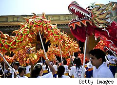 Enter the Dragon: Chinese New Year Heralds Good Luck