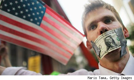 Money stress in the US