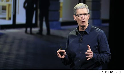Tim Cook AP Photo