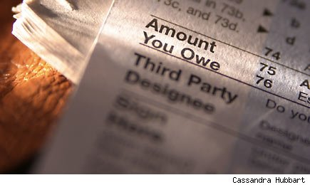 Taxes that you owe