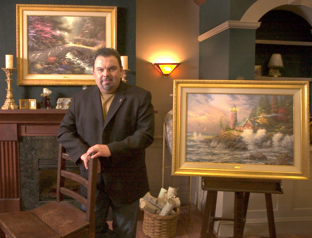 Is Your Thomas Kinkade Painting About To Increase In Value?   AOL Finance