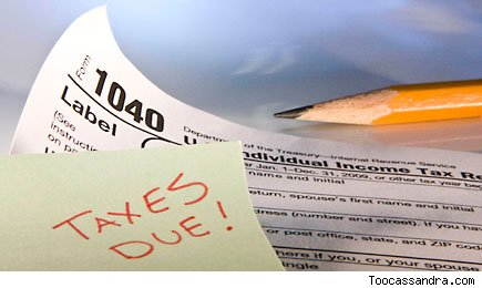 Taxes are due - filing tips