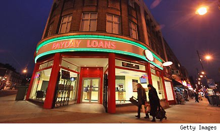 Payday loans and your bank