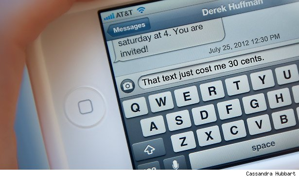phone text