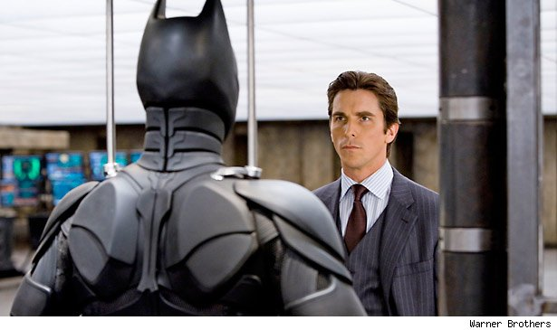 Batman is Bruce Wayne - surprise!